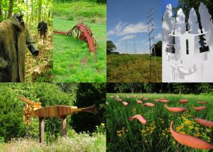 2009 River Project Sculptures